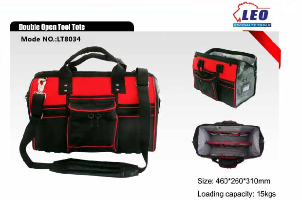 Double Open Tool Tote