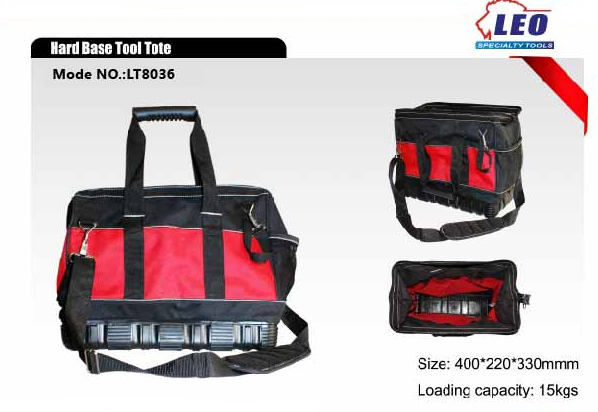 Hard Base Tool Tote